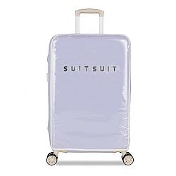 SUITSUIT Fabulous PC塑膠 行李箱保護套24吋-薰衣草紫