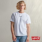 Levis 男款 短袖T恤 250gsm厚棉 迷你字母Logo