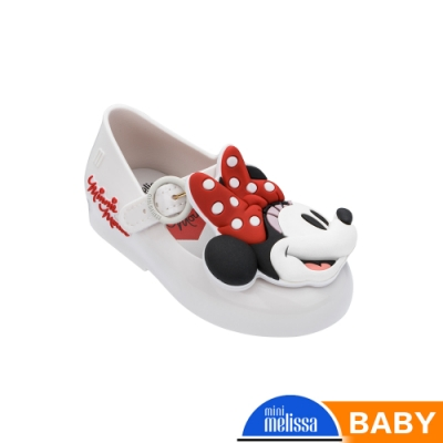Melissa Mickey聯名款 米妮Face娃娃鞋(寶寶款)-白