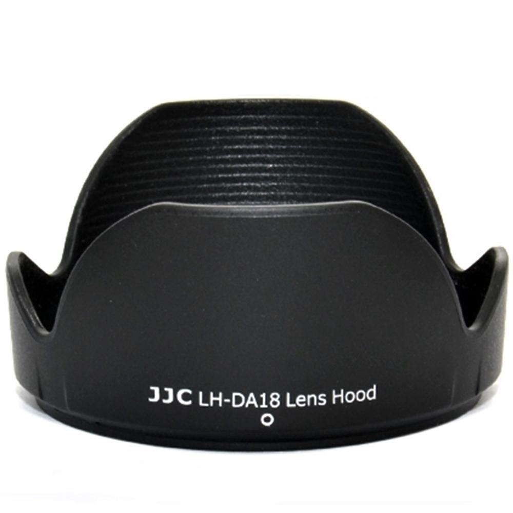 JJC Tamron副廠遮光罩LH-DA18(黑色蓮花)相容Tamron原廠DA18遮光罩適用Tamron鏡頭A18 B008