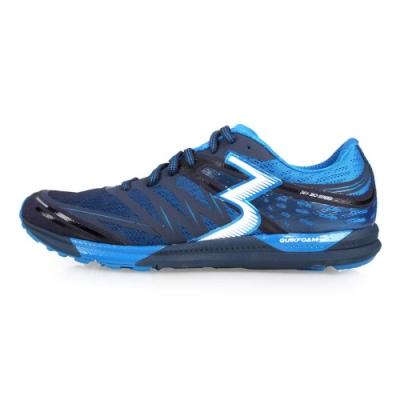 361度 361° 男慢跑鞋-路跑 藍白