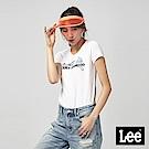 Lee 冰棒JUICY印花短袖圓領T恤/RG-標準版-白