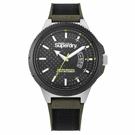 Superdry極度乾燥  軍綠街頭潮流運動腕錶(SYG245BN)-45mm