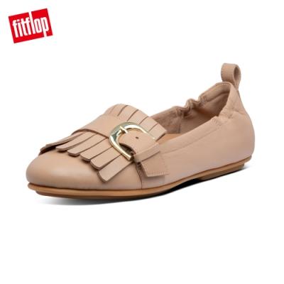 【FitFlop】ALLEGRO FRINGE BALLERINAS芭蕾舞鞋-女(櫸木粉)