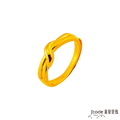 J code真愛密碼 邂逅幸福黃金女戒指