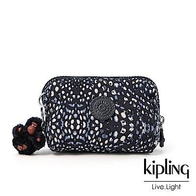 Kipling 柔軟羽毛經典拉鍊化妝包-INAMI S
