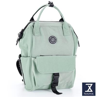 74盎司 Joy 單層插釦造型兒童後背包 (A4可)[K-037-Jo-T]薄荷綠