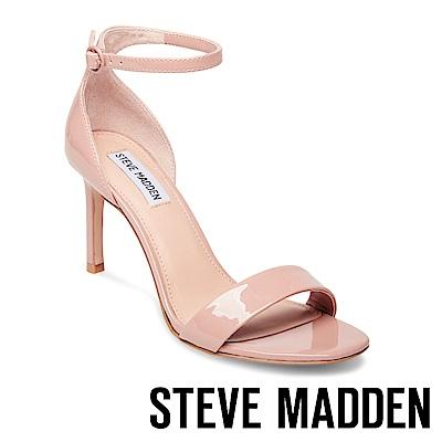 STEVE MADDEN-FAME 一字高跟涼鞋-粉紅