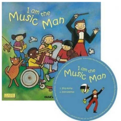 I Am The Music Man 音樂超人CD書