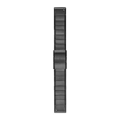 GARMIN QuickFit 22mm 石墨灰ADLC鈦錶帶
