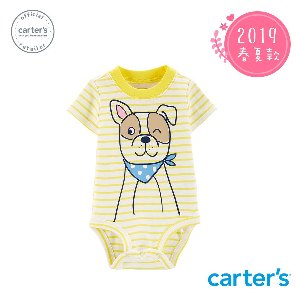 Carter's台灣總代理 狗狗印圖包屁衣