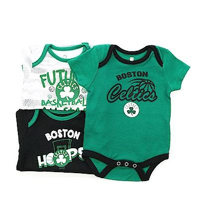 NBA 新生兒包屁衣三件組 塞爾提克