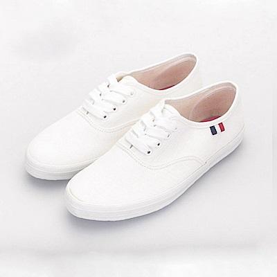 BuyGlasses 休閒感布面低統鞋-米