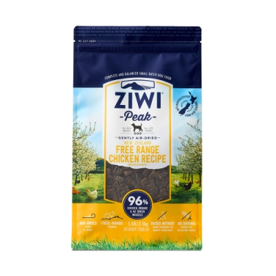 ZiwiPeak 巔峰 96%鮮肉狗糧 雞肉 2.5KG