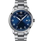 TISSOT天梭紳士XL經典石英手錶-41mm