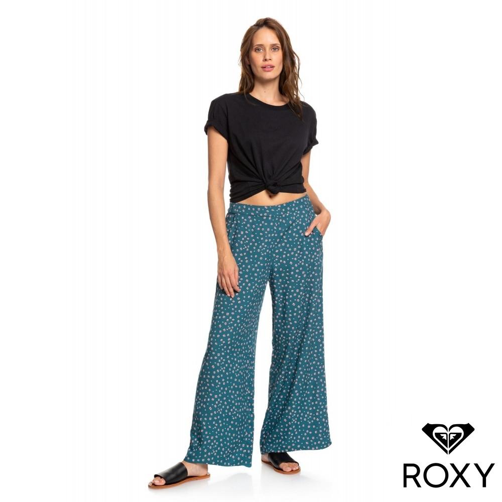 【ROXY】MIDNIGHT AVENUE 長褲 藍綠色