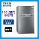 TECO東元 100L 1級定頻2門電冰箱 R1001S product thumbnail 1