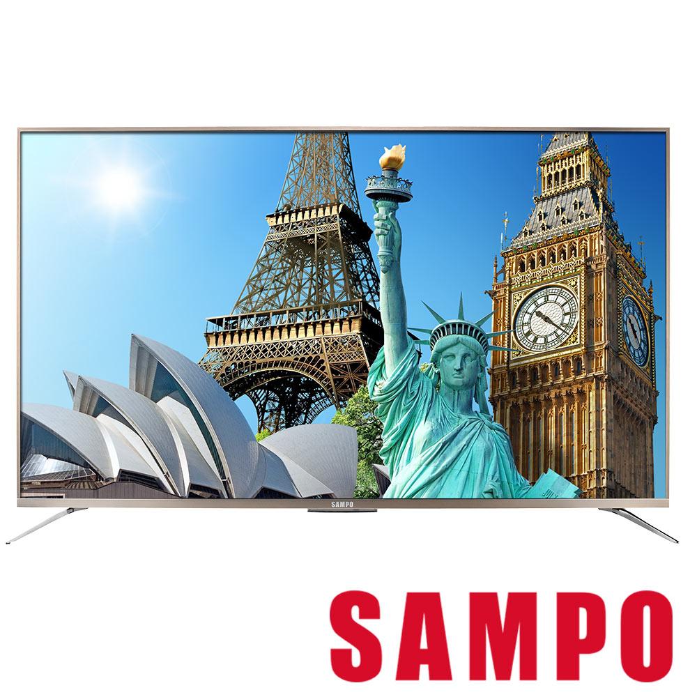[領券9折] SAMPO聲寶 65型 4K SMART聯網 液晶顯示器 EM-65ZT30D