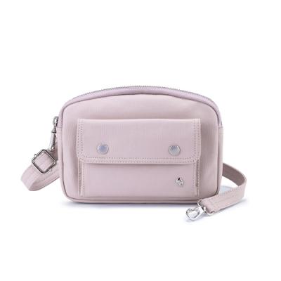 PORTER - 輕甜繽紛SPIRIT造型腰包/斜背包 - 藕粉紫(銀)