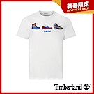 Timberland 男款白色鞋款印花短袖圓領T恤 A1WZT