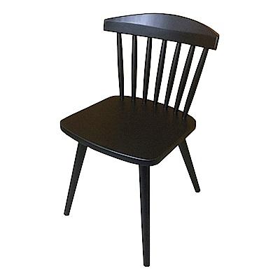 AS-Brook胡桃色實木餐椅-43x47x75cm