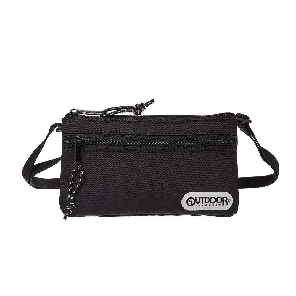 【OUTDOOR】隨身側背包-黑色 OD101125BK