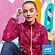 【MAC IN A SAC】女款輕巧袋著走炫彩防水透氣外套MNS117迷彩桃紅 product thumbnail 1