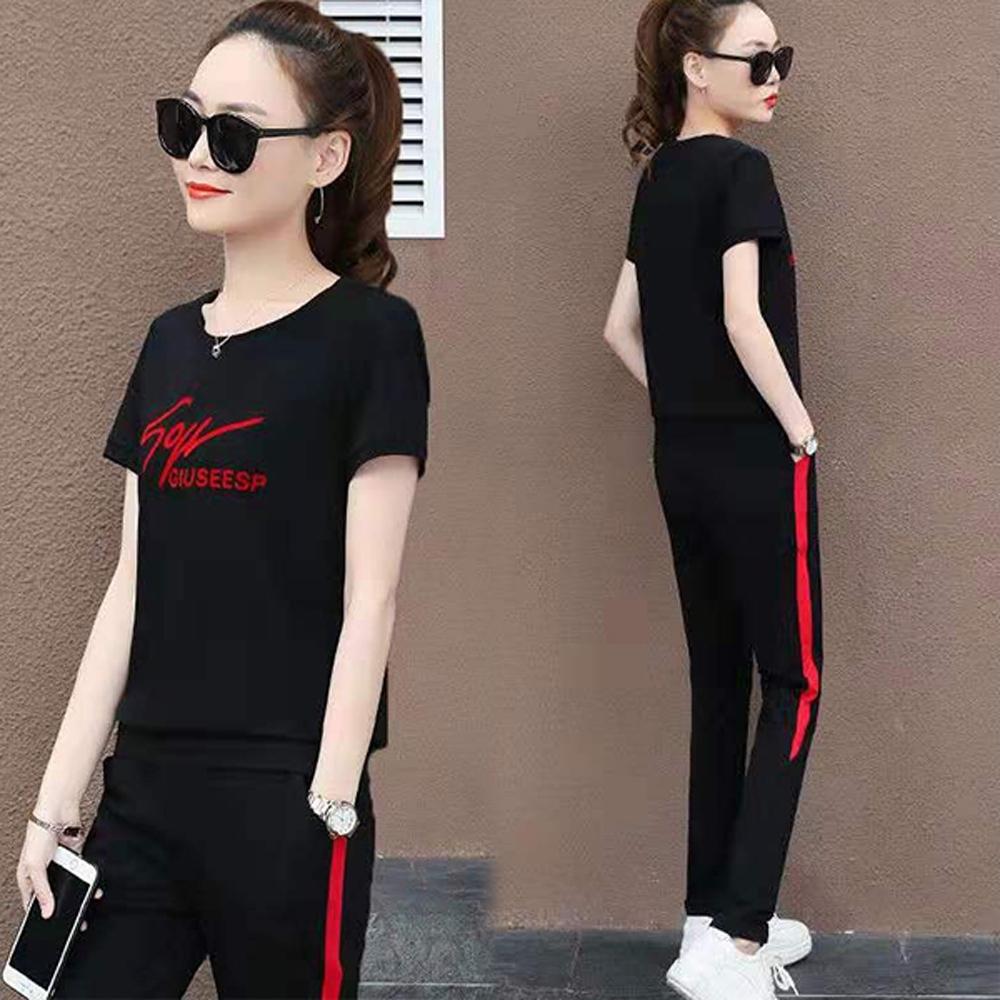 【韓國K.W.】(預購)完美曲線自然運動套裝褲-3色