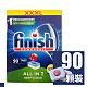FINISH all in 1 洗碗機 檸檬 洗碗錠 90 顆 盒裝 product thumbnail 1