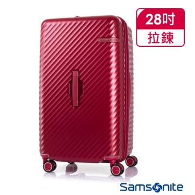 Samsonite新秀麗 28吋 Stem 2/8 開闔PC抗震雙輪SPORT運動箱(紅)