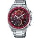 CASIO EDIFICE 三眼設計漸層混搭計時腕錶(EFV-600D-4A) product thumbnail 1