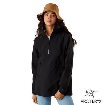 Arcteryx 始祖鳥 女 24系列 Venda 防風 防水 GORE-TEX 套頭外套 黑