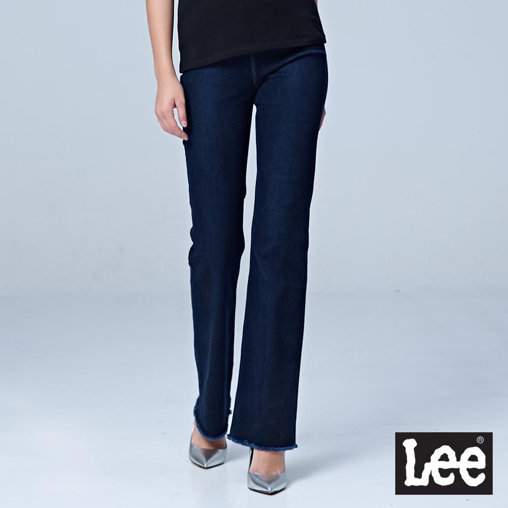 Lee 高腰喇叭褲/BO-深藍色
