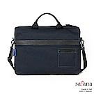 satana - 簡約商務兩用公事包 - 墨藍色