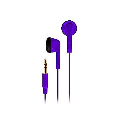 LG LE-1500 原廠立體聲平耳式耳機_紫色 (盒裝)