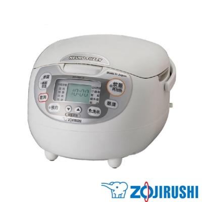 象印 ZOJIRUSHI 日本製 6人份黑金剛微電腦電子鍋 NS-ZEF10