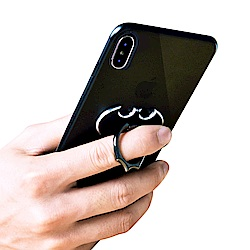 iStyle iPhone XS Max 6.5吋 黑蝙蝠金屬支架手機殼