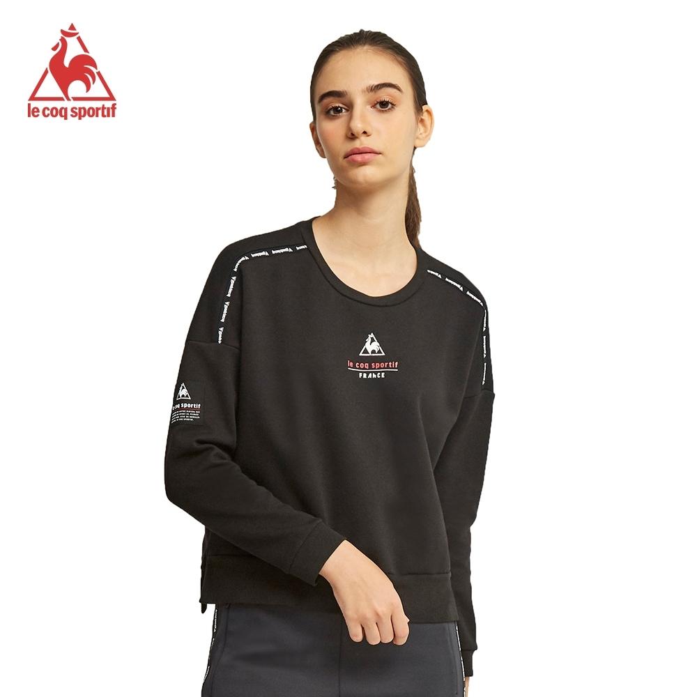 法國公雞牌圓領T恤 LWM2230299-女-黑