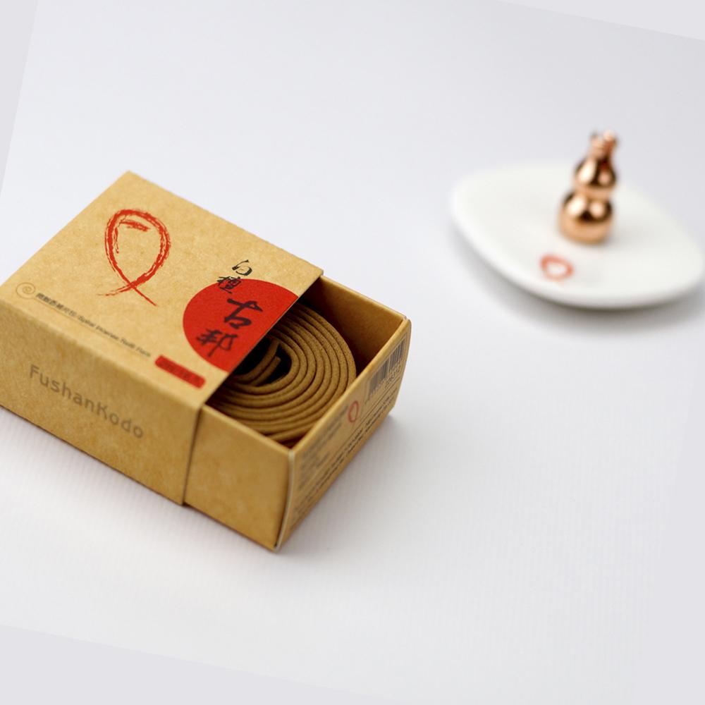 Fushankodo富山香堂 白檀古邦1.5H盤香補充包(快)