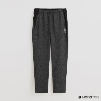 Hang Ten - 男裝 - 純色腰部鬆緊休閒運動長褲 - 灰