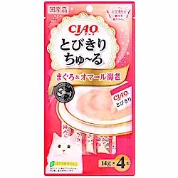 CIAO 優選啾嚕肉泥-鮪魚+龍蝦(56g)