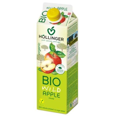 HOLLINGER 荷林阿爾卑斯有機鮮榨蘋果汁 (1000ml/盒)
