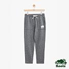 女裝Roots 口袋休閒棉褲-灰色