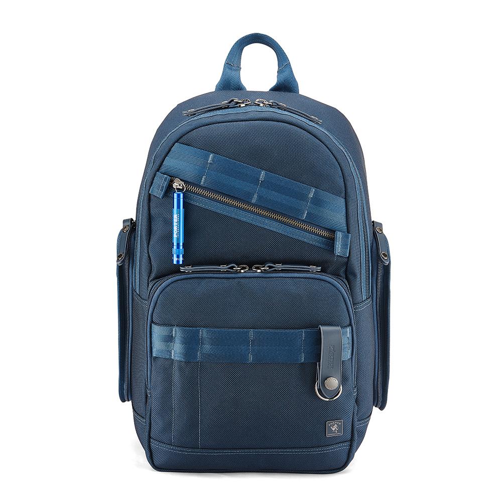PORTER - 經典新進化NEW HEAT高機能型格後背包- 普魯士藍