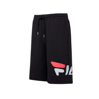 FILA 針織短褲-黑 1SHT-5439-BK
