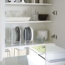 【YAMAZAKI】Plate日系框型盤架-L★碗盤架/置物架/收納架/廚房收納