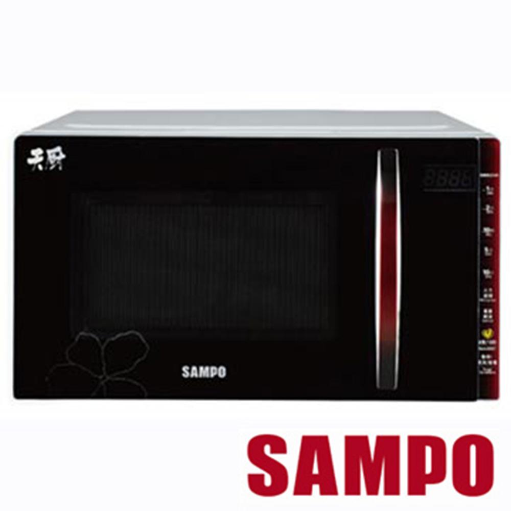 SAMPO聲寶20公升平台式微波爐 RE-B320PM @ Y!購物