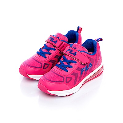 FILA KIDS 大童氣墊MD慢跑鞋-紫3-J807S-999