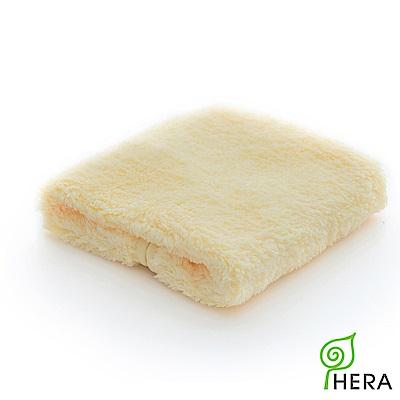 HERA 3M專利瞬吸快乾抗菌超柔纖小浴巾-奶油黃
