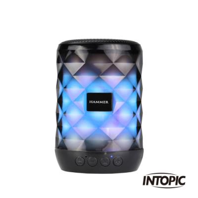INTOPIC 廣鼎 多功能炫彩LED藍牙喇叭(SP-HM-BT161)